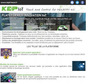 NEWSLETTERS - Plateforme IIoT -Thingworx
